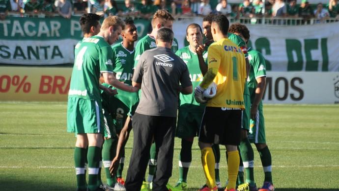 Chapecoense x Santos (Foto: Cleberson Silva/Chapecoense)