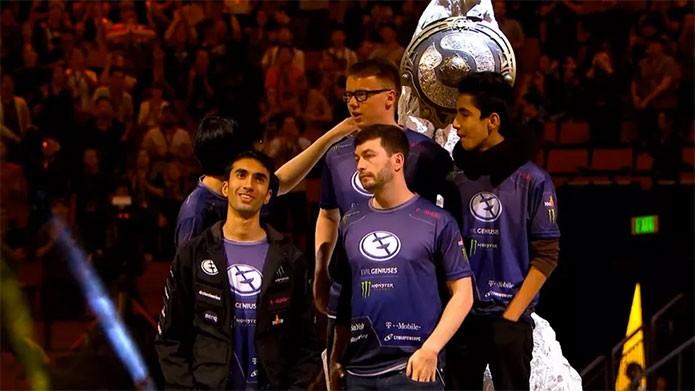 Dota 2 paga prêmio de US$ 6,6 milhões ao Evil Geniuses, vitoriosos (Foto: Divulgação/Valve)