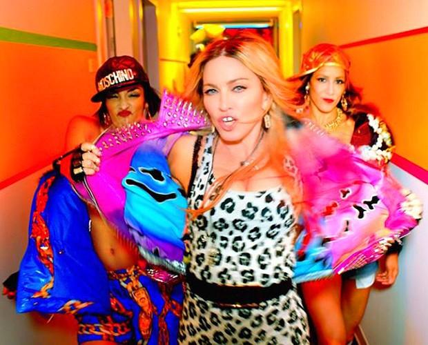 Madonna trabalha em cima do novo álbum 'Rebel Heart' (Foto: Reprodução)