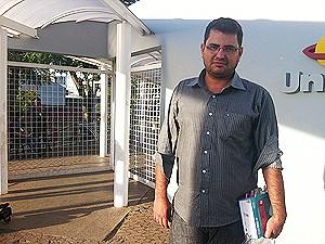 Luiz Otávio Caixeta se diz confiante na aprovação no exame da OAB (Foto: Patrícia Alencar/G1DF)