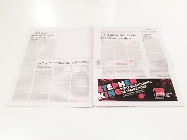 Publicidades não disputaram espaço visual com as imagens na edição (Foto: Reprodução/British Journal of Photography)