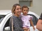 'Ela está bem', diz mãe de Julia após garota passar por exames no IML