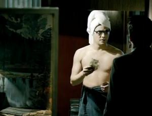 """Eduardo Sterblitch interpreta Beto no filme """"Os Penetras"""" (Foto: Reprodução SporTV)"""