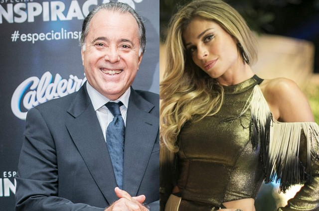 'A lei do amor': Tony Ramos e Grazi Massafera terão romance no último capítulo (Foto: TV Globo)