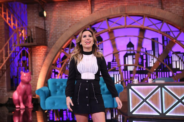 Tatá Werneck comanda o 'Lady night' (Foto: Gianne Carvalho/Multishow)