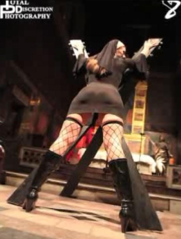Festa sexual que seria realizada em uma antiga igreja na Filadélfia. (Foto: Reprodução/Pix 11)