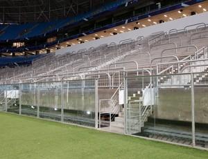 Área da Geral na Arena do Grêmio (Foto: Wesley Santos / Arena Poa)