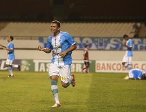 Rafael Oliveira fez o primeiro da vitória do Paysandu (Foto: Tarso Sarraf / O Liberal)