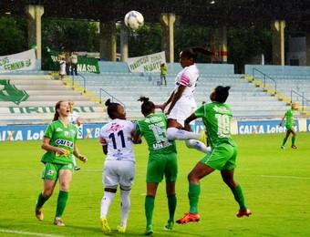 São José x Rio Preto Futebol Feminino (Foto: Danilo Sardinha/GloboEsporte.com)
