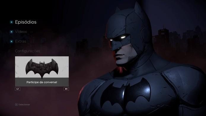 Review Batman: The Telltale Series (Foto: Reprodução/Felipe Vinha)