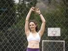 Bianca Rinaldi mostra seu treino para o EGO