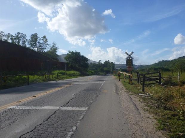 Trecho da ES-490, no Espírito Santo.  (Foto: Divulgação/ CNT)