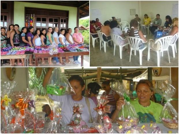 Associação foi criada em 2011 para apoiar vítimas de violência doméstica e integrar mulheres no mercado (Foto: Reprodução/Associação de Mulheres Jasmim)