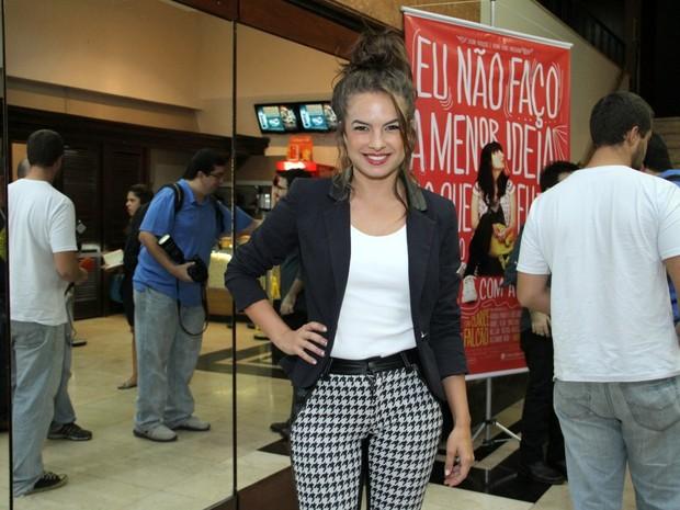Lua Blanco em pré-estreia de filme no Rio (Foto: Thyago Andrade/ Foto Rio News)