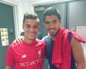 Philippe Coutinho posta foto com Suárez após Liverpool golear o Barcelona