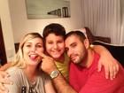 Filho de Andressa Urach fala que rezava pela volta dos pais