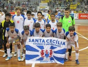 Santa Cecília é campeão da Copa TV Tribuna de Futsal (Foto: Fúlvio Feola / Globoesporte.com)