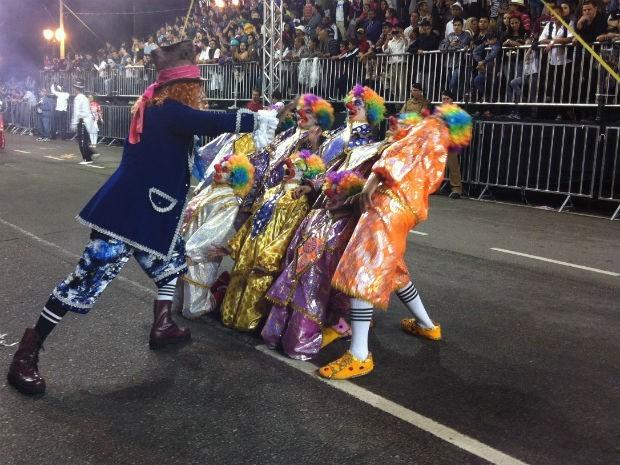 Desde 1997, desfiles eram realizados na Cândido de Abreu (Foto: Frenando Castro/G1)