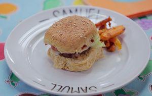 Receita de hambúrguer saudável