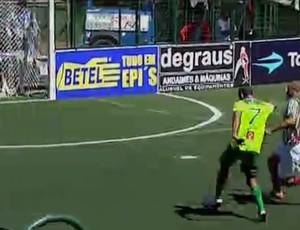 Palmeiras Fluminense showbol (Foto: Reprodução SporTV)