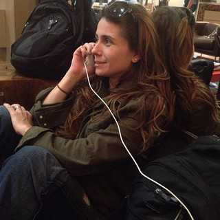 Giovanna Antonelli no aeroporto (Foto: Instagram / Reprodução)