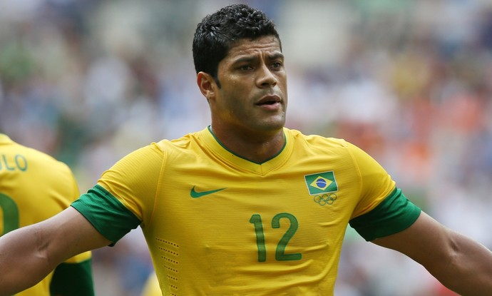 Hulk seleção olimpica 2012 (Foto: Getty Images)