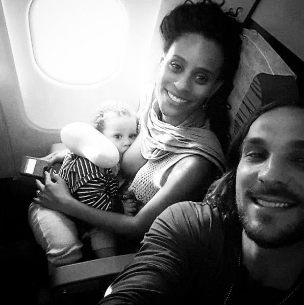 Aline Wirley e Igor Rickli com o filho Antonio (Foto: Reprodução/Instagram)