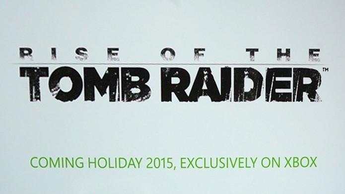 Anúncio de exclusividade de Rise of the Tomb Raider para Xbox One criou confusão na época (Foto: Reprodução/Engadget)