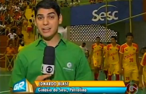 Ednardo Blast (Foto: Reprodução/TV Grande Rio)