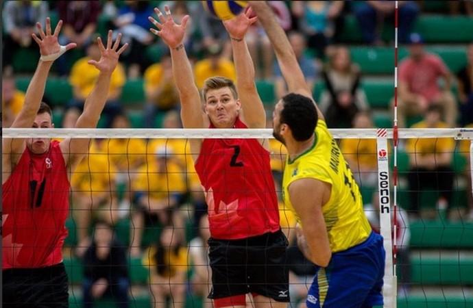 Seleção brasileira de vôlei (Foto: Divulgação/CBV/Canadá)