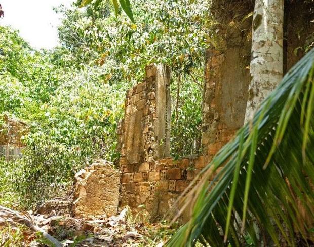 Cidade estava abandonada havia 40 anos, segundo Nakayama. (Foto: Lucas Amorelli/BBC)