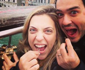 Júlia e Marcos estão juntos há 10 anos (Foto: Arquivo Pessoal)