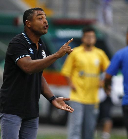 """""""DIA DO NÃO"""" (Lucas Uebel/Grêmio, Divulgação)"""