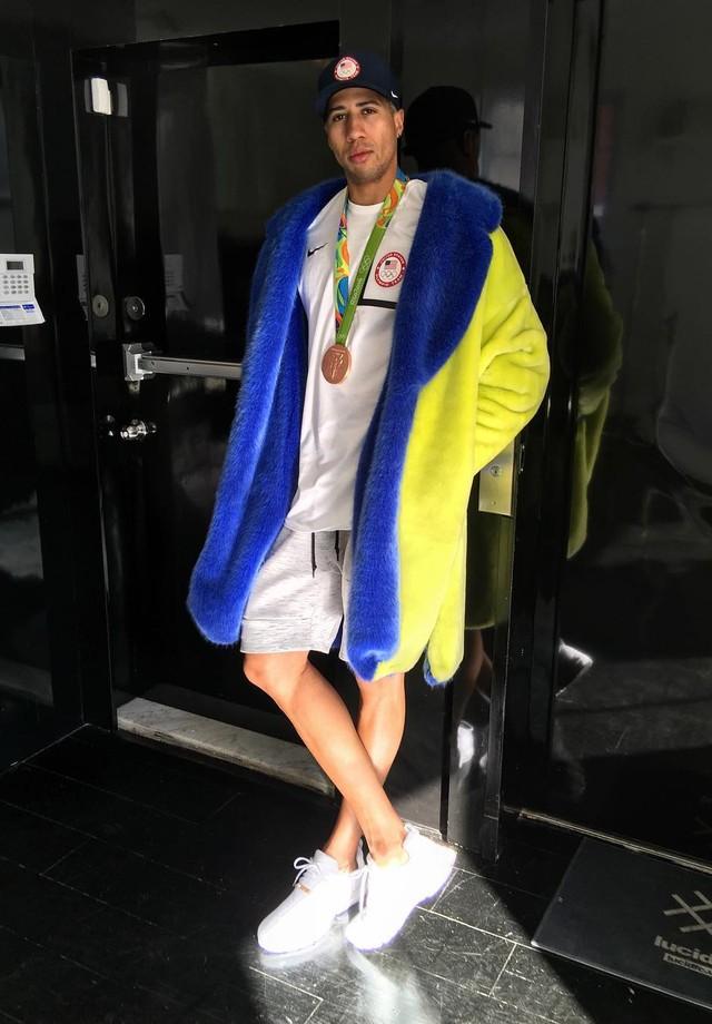 Miles Chamley-Watson conquistou uma medalha de bronze na Rio 2016 (Foto: Instagram/Reprodução)