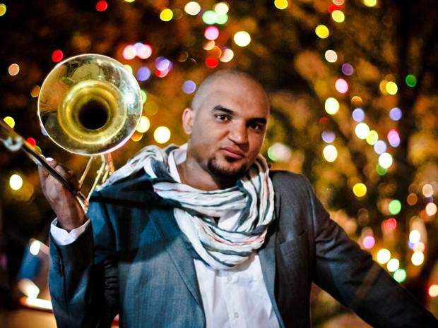 """Músico Jorginho Neto apresenta show """"Samba Jazz Leste"""" em Guararema (Foto: Fernando Eduardo/Divulgação)"""