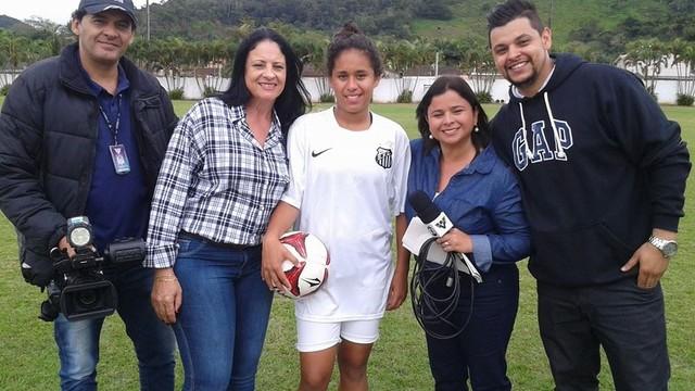 Raquel Domingues é a nova sereia da Vila (Foto: Arquivo Pessoal)