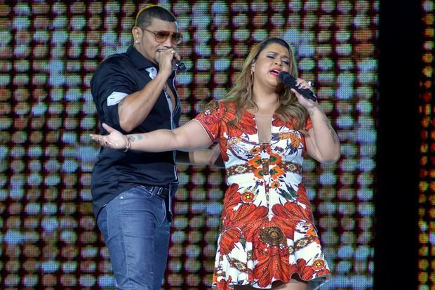 Naldo e Preta Gil (Foto: Roberto Teixeira/EGO)
