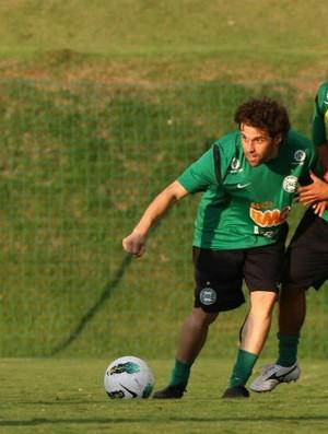 Lincoln e Gil no treino do Coritiba (Foto: Divulgação / Coritiba)