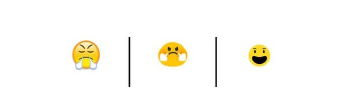 Este emoji não está zangado, ele está comemorando (Foto: Reprodução/Unicode)