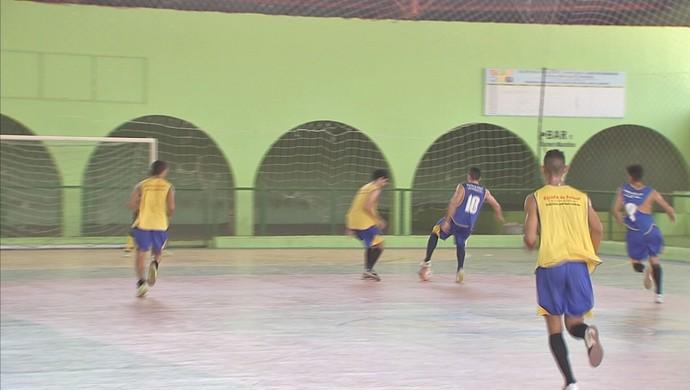 Banabuiú, Zonal, Copa TV Verdes Mares de Futsal, Futsal (Foto: Reprodução TV Verdes Mares)