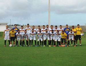 Equipe Sub-19 do Globo FC (Foto: Canindé Pereira/Divulgação)