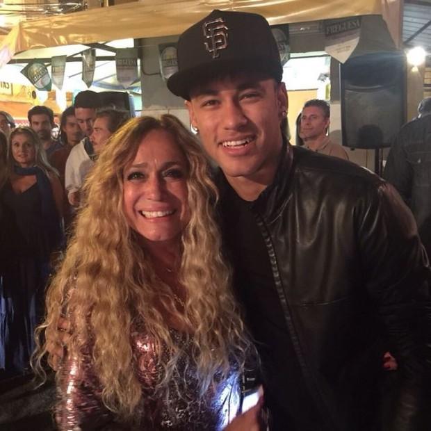 Susana Vieira e Neymar (Foto: Instagram / Reprodução)