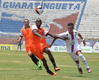 Manthiqueira x Itabaiana-SE Copa São Paulo de Futebol Júnior (Foto: Leandro Oliveira/Agência Vale)