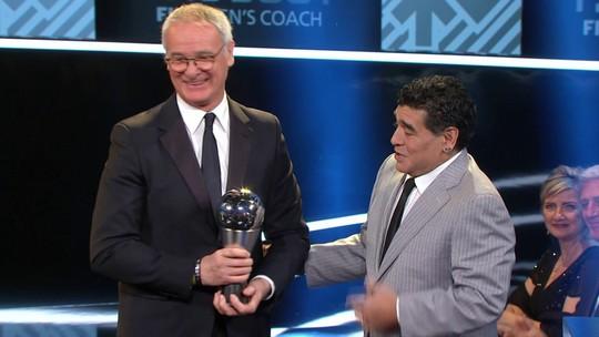 Campeão com Leicester, Ranieri é eleito o melhor técnico do mundo