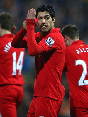 Luis Suarez liverpool gol mansfield town (Foto: Agência Getty Images)