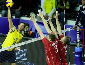 vôlei dante brasil e rússia liga mundial (Foto: FIVB)