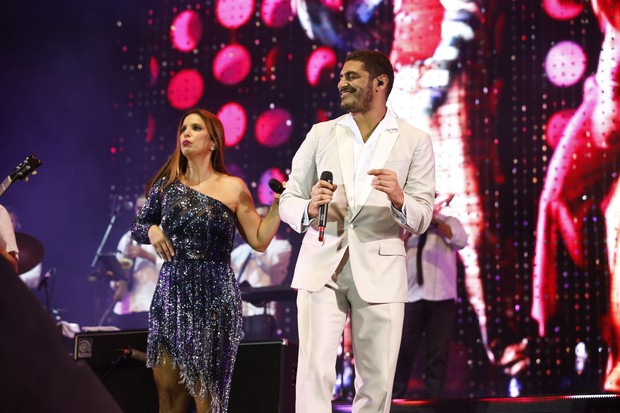 Ivete Sangalo e Criolo (Foto: Marcello Sá Barretto e Felipe Panfili/AgNews)