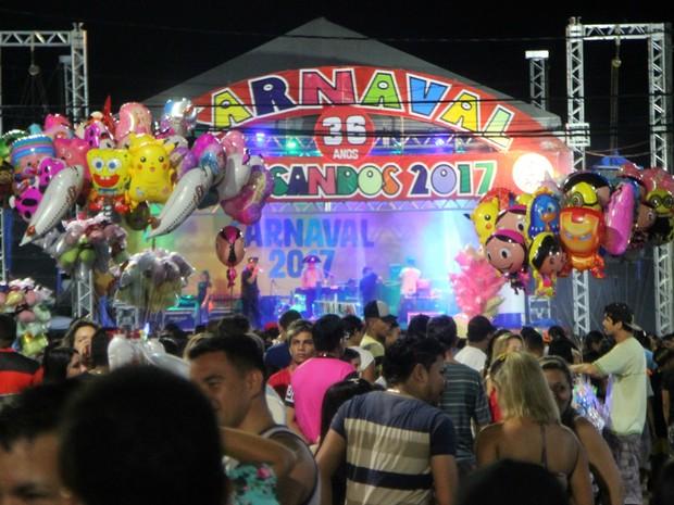 Carnaval do Educandos comemorou sua 36º edição (Foto: Rickardo Marques/G1 AM)