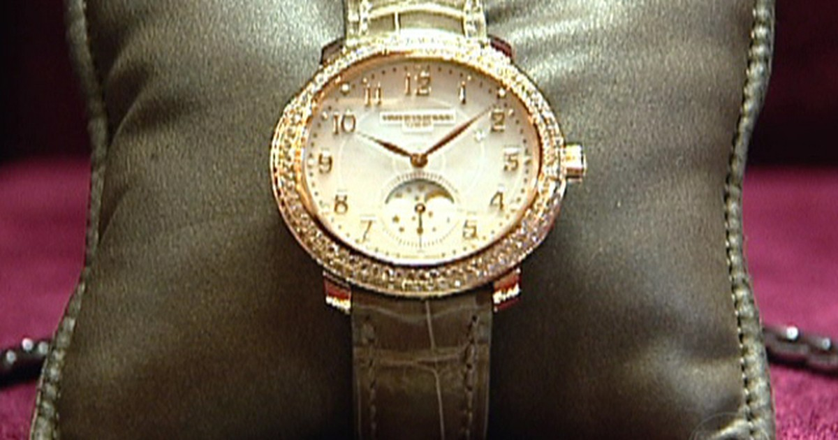 bd2d5c2dcec Bom Dia Brasil - Relógios suíços continuam sendo sinônimo de luxo no mundo