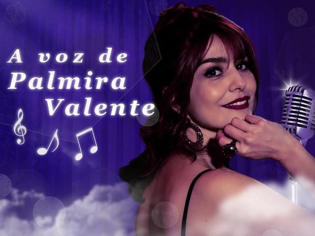 A voz de Palmira Valente (Foto: Sangue Bom / TV Globo)
